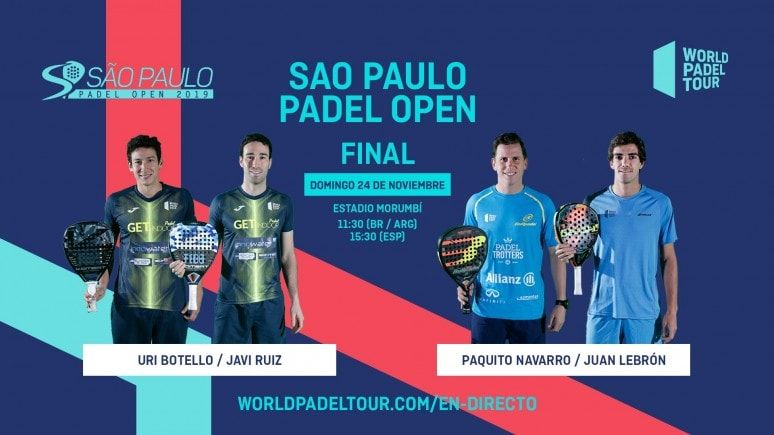 Final World Pádel Tour Sao Paulo 2019 Padelstar Sao Padel Sao Paulo