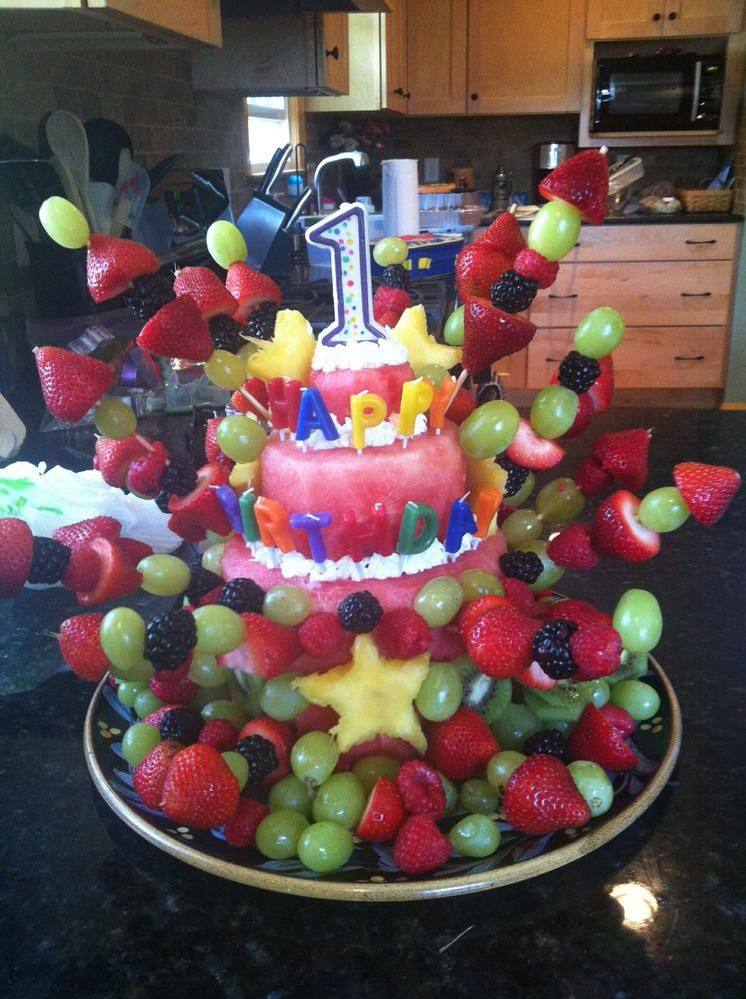 Awesome Alternative To A Traditional Cake Uniq Bday Ideas In