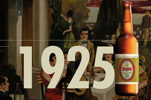 cerveja brahma 1925.....Brasil by Elvys design