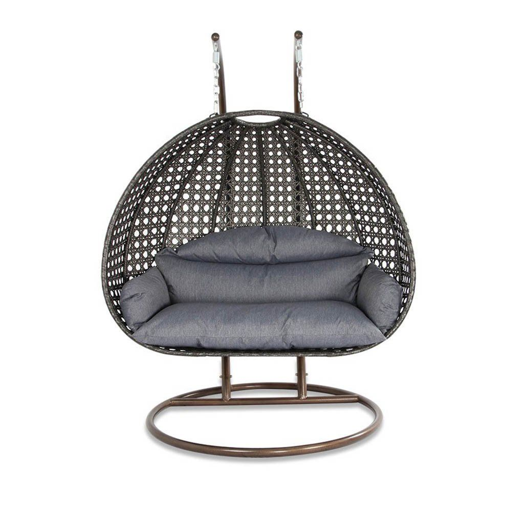 Swing Chair Sydney Gray Velvet And A Half Elegant Outdoor Hanging Egg Shaped On Amazon