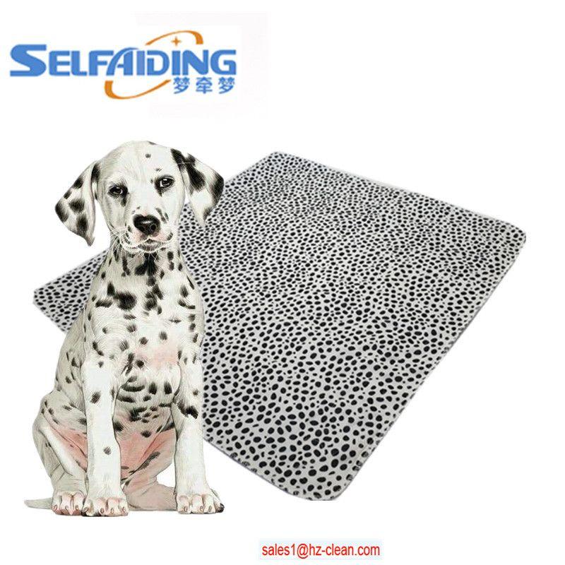 Eco Washable Pet Pad Reusable Dog Blanket Waterproof Puppy Dog