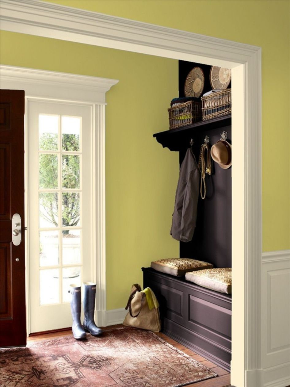 Style Your Entry Way with Benjamin Moore Interior Paint | Entryways ...