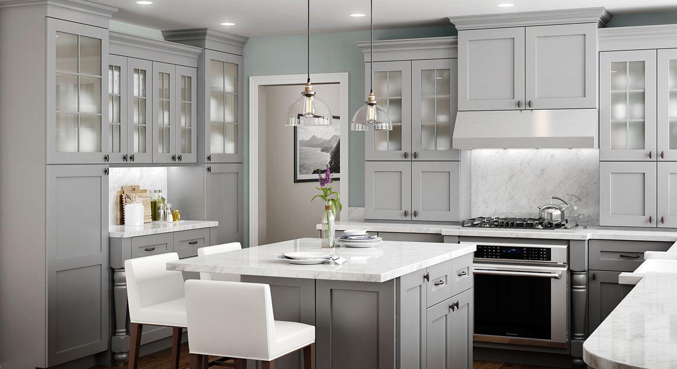 Home Decorators Cabinetry Grey Kitchen Cabinets Island Kitchens Stuff