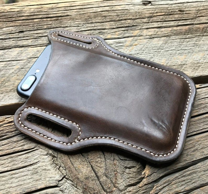 Iphone 11 8 7 6s xr leather holster pick your size
