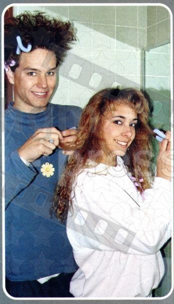 Mark Senior Year 1990 So So Cute Sherman E Burroughs High