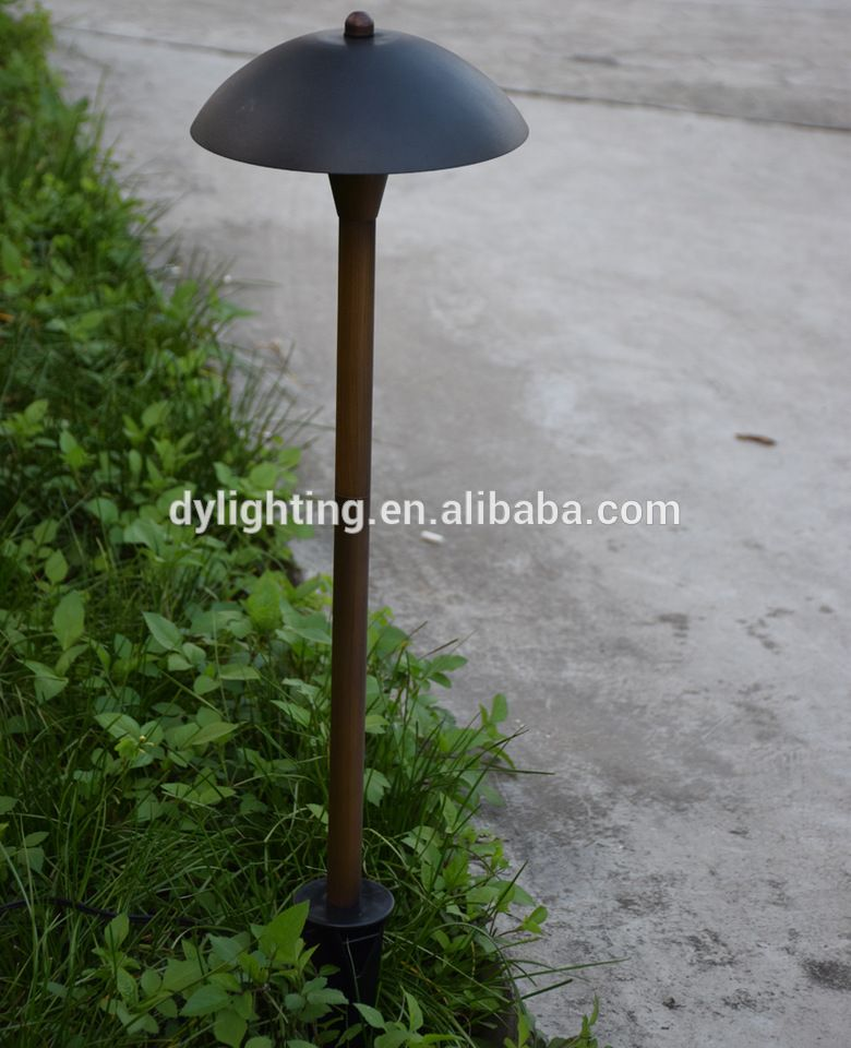 Low Voltage 12v Led Area Light Br Outdoor Garden Lights Dome Path Fixture