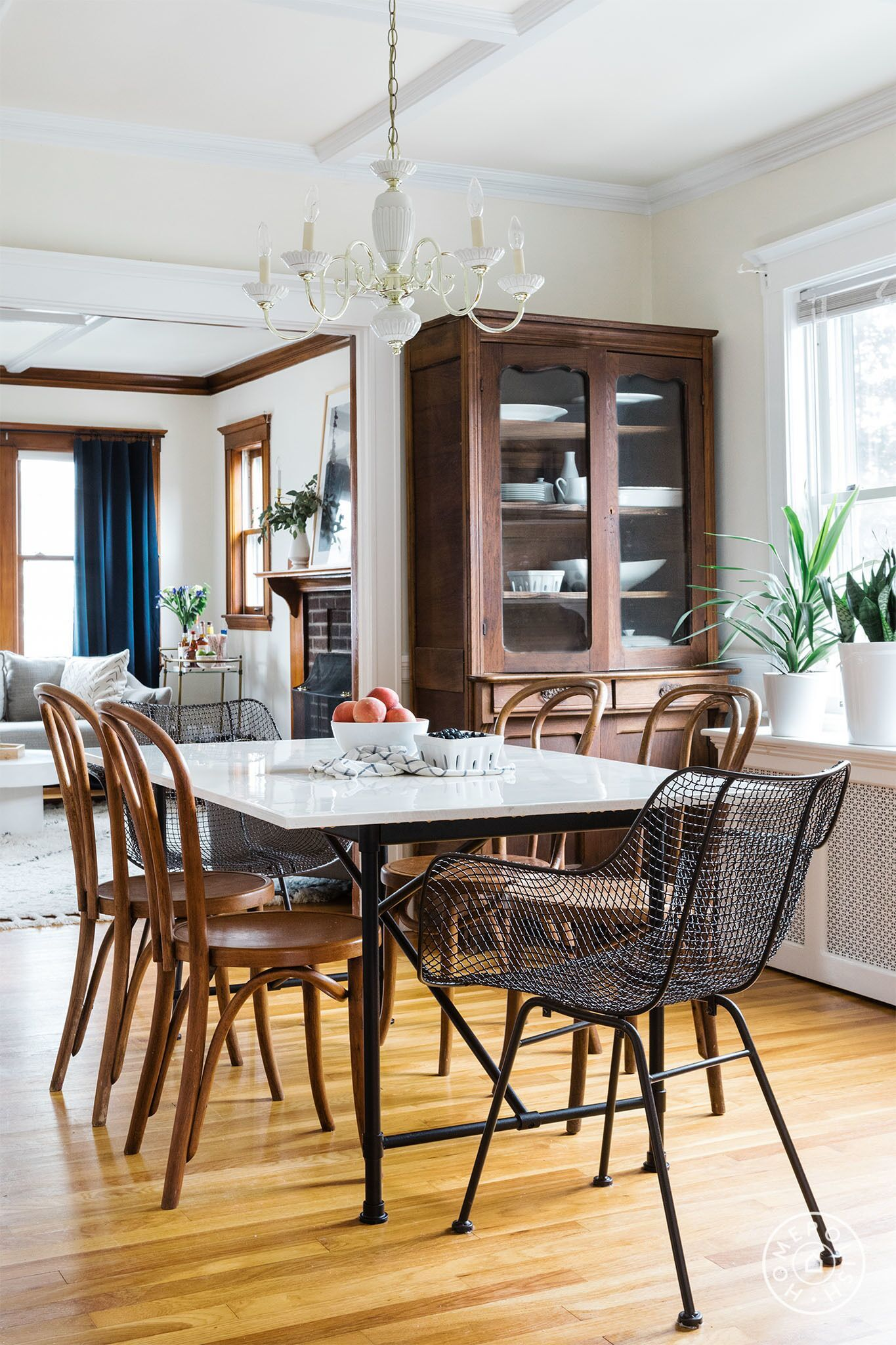 Colonial Dining Room Furniture. Homepolish Designer Heather Jorde Gives Us  The Lowdown On How She
