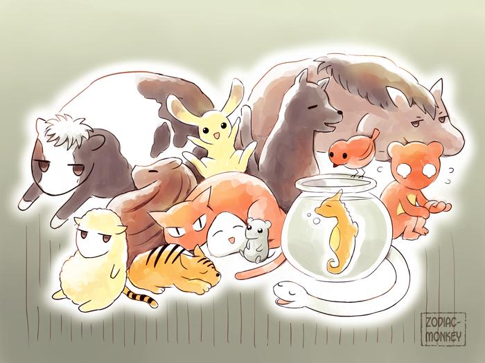Image result for fruits basket wallpaper zodiac animals ...