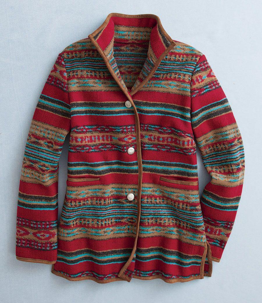 Mesa Blanket Jacket - Acacia