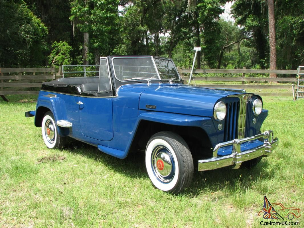 1948 Willys Overland Jeepster Concourse Restoration With Images Jeepster Willys Willys Jeep