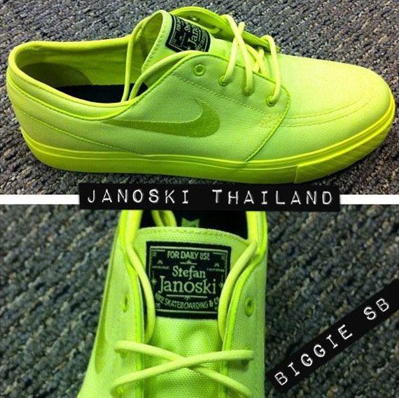 2a3a875c160d Nike SB Stefan Janoski  Neon  - SneakerNews.com