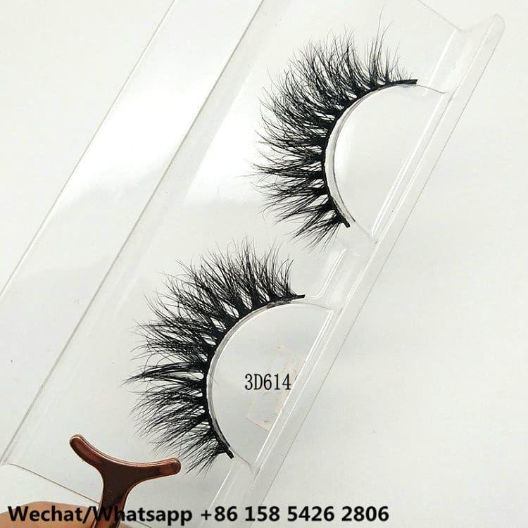 China Qingdao Premium Mink Eyelashes Supplier Wholesale Price