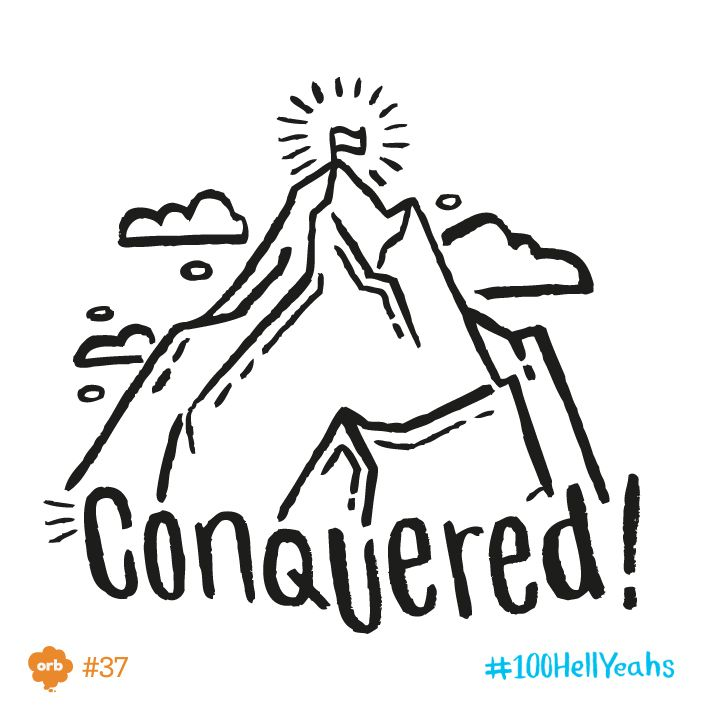 May 29th. Hell Yeah! Edmund Hillary & Tenzig Norgay became the 1st confirmed climbers to summit Everest on this day in 1953.  #100HellYeahs