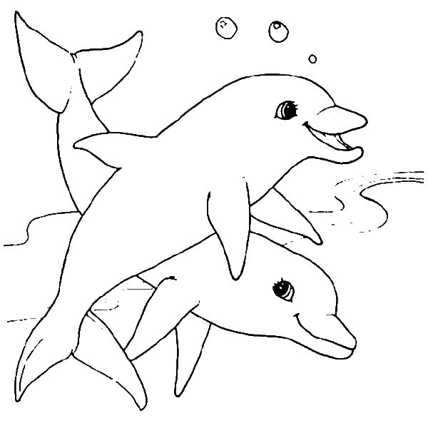 Coloring Pages For 3 Year Olds Page 1 Dolphin Coloring Pages