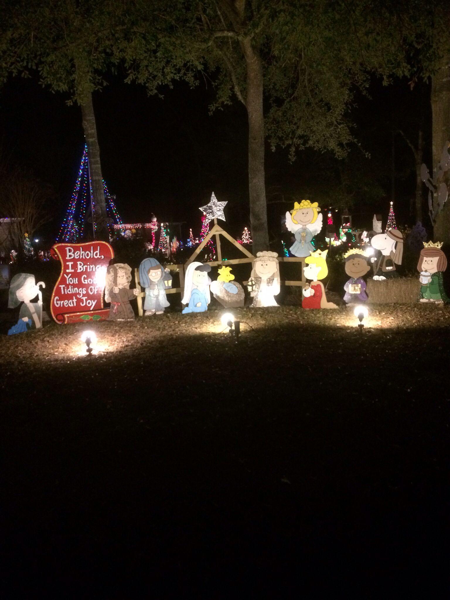 Christmas Nativity Yard Decorations