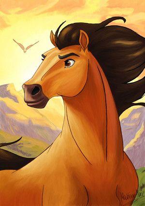 Spirit & Rain - Spirit: Stallion Of The Cimarron Fan Art - Fanpop