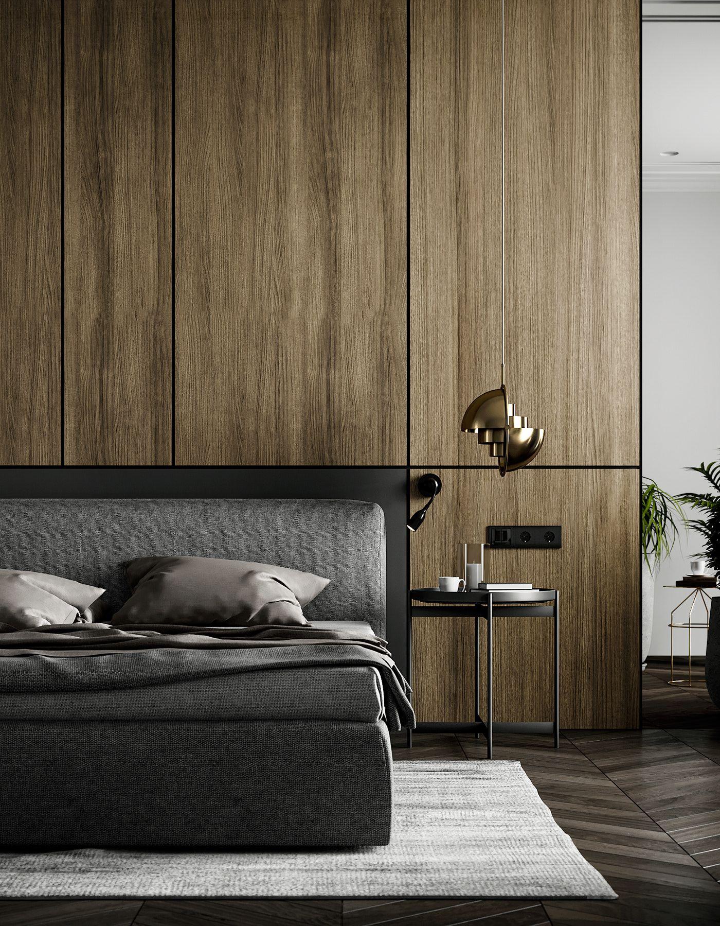 Interior design-ideen wohnzimmer mit tv interior design and visualization of nice appartments f on behance
