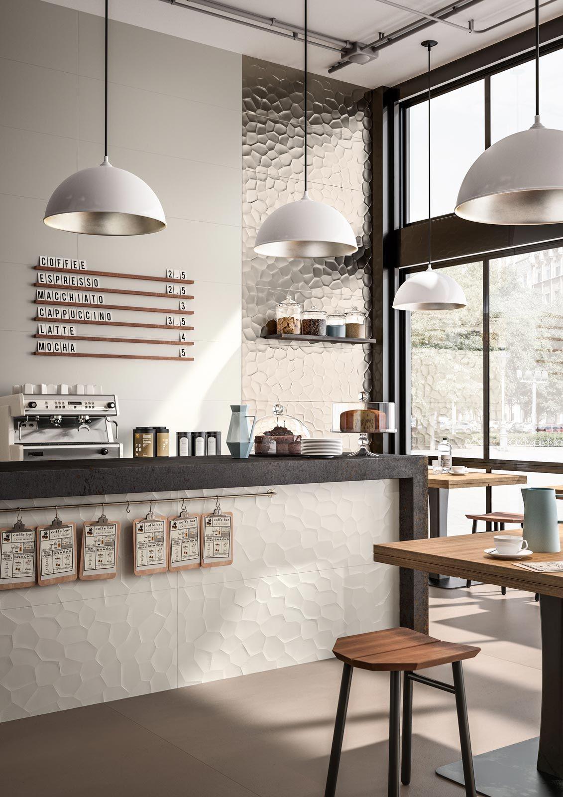 essenziale carrelage blanc pour salle de bain structures 3d marazzi restaurant en 2019. Black Bedroom Furniture Sets. Home Design Ideas
