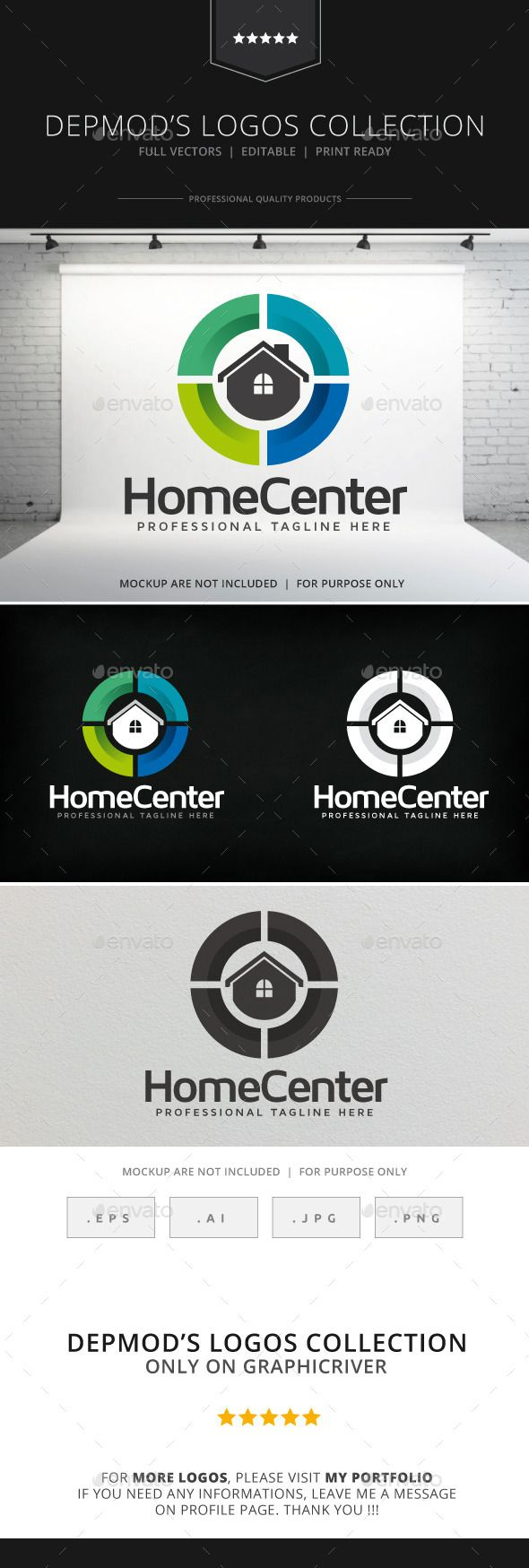 Home Center Logo Yapilacak Tasarimlar Lab Logo Earth Logo