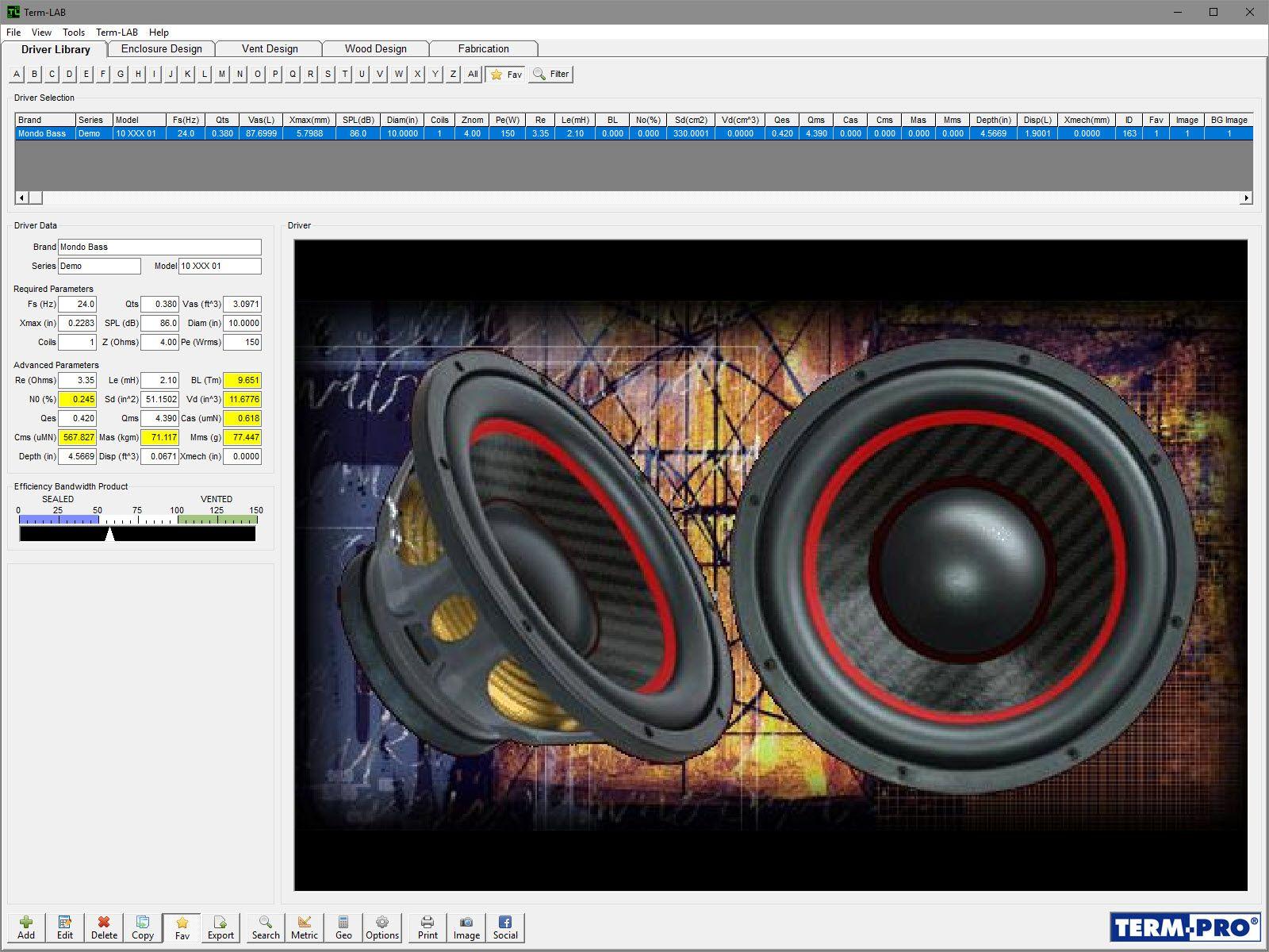Term Pro Enclosure Design Software Download Software Design Subwoofer Box Design Software