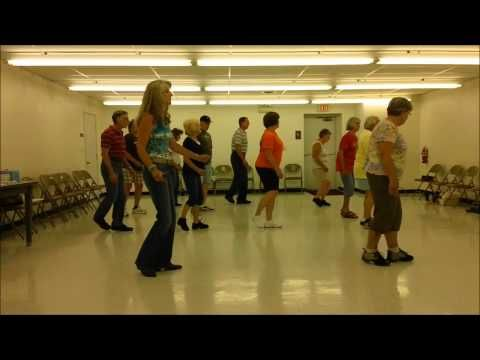 Party In Slow Motion Line Dance To Pontoon Line Dancing Country Line Dancing Dance Videos