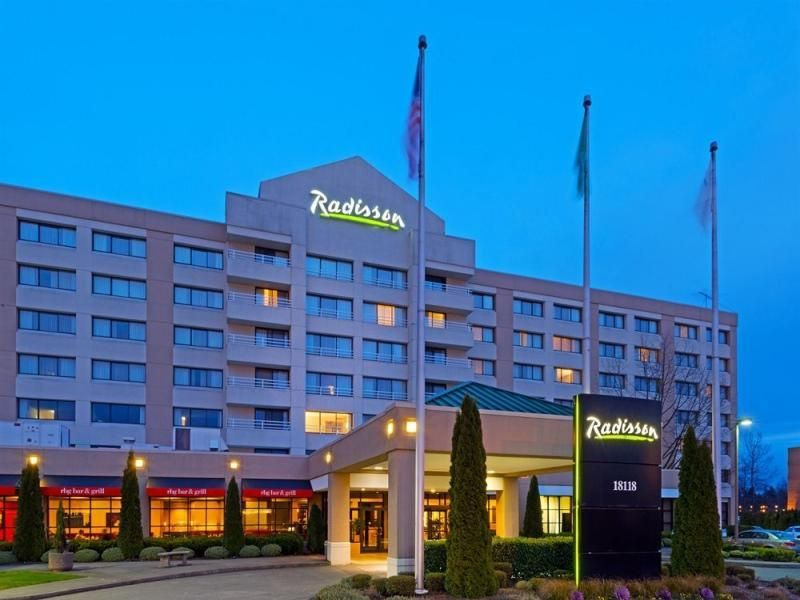 Seattle Wa Radisson Hotel Airport United States North America The 4