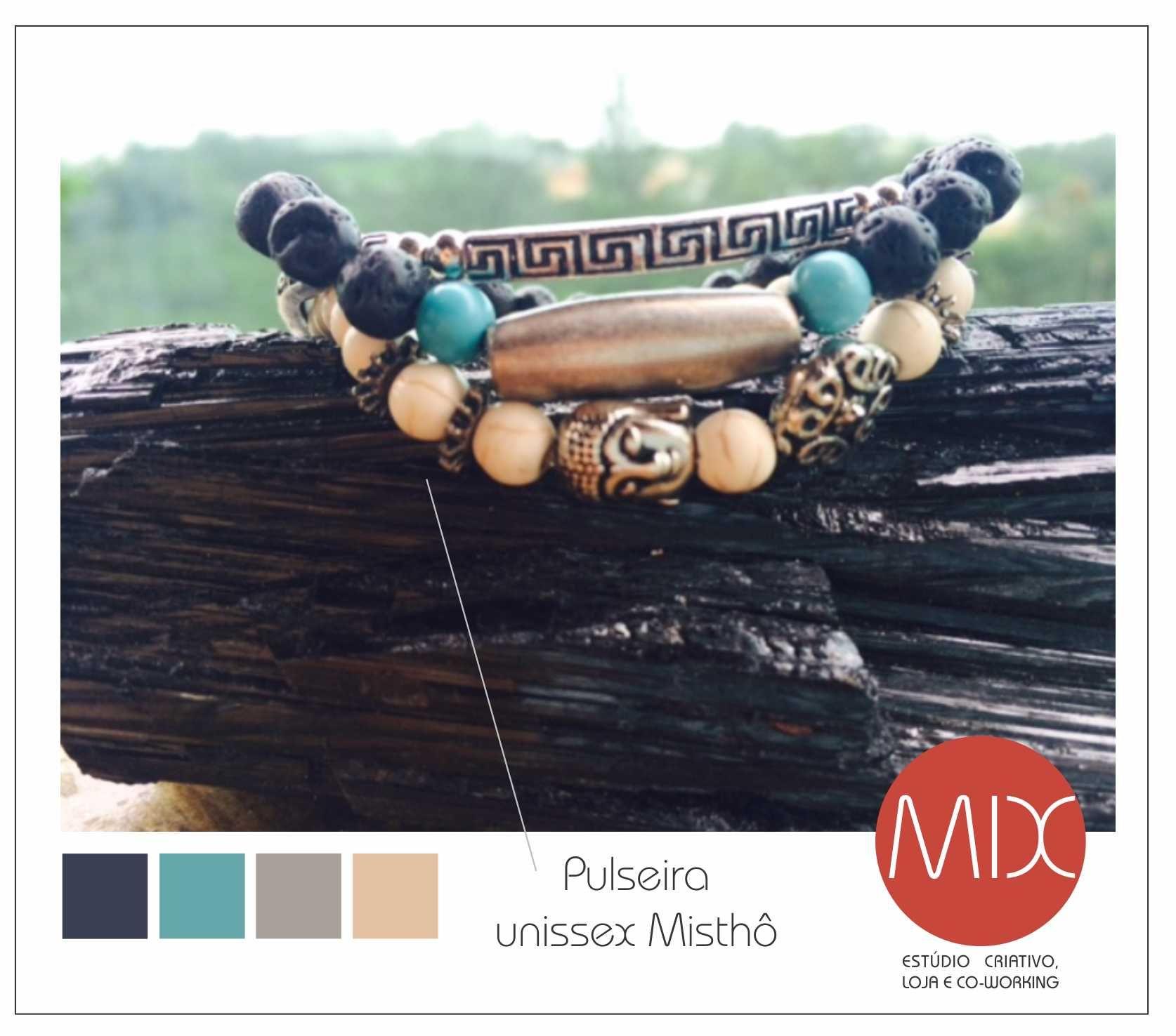 Masculino e feminino, temos pulseiras! A Misthô chegou para atender a tendência de manter-se sofisticadamente único. #themixbazar