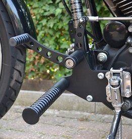 Forward Controls Voor Harley 2000 Up Zwart Motor Mesin