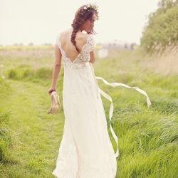 her dress