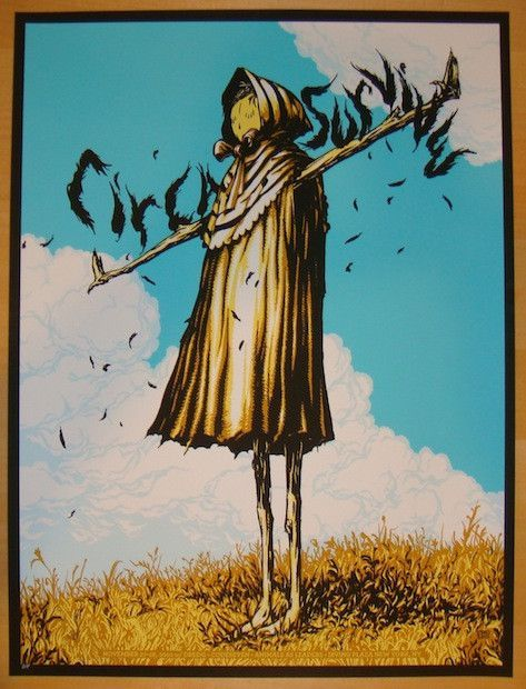 Circa Survive W Dredg Codeseven And Animals As Leaders Silkscreen Concert Poster Click Image For More Detail A With Images Circa Survive Concert Posters Gig Posters