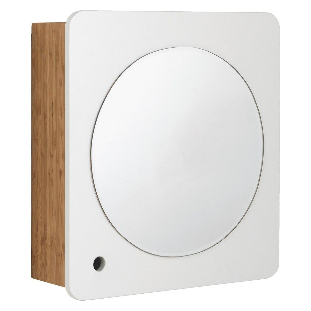 ODIN Bamboo bathroom cabinet with mirror from Habitat Bathroom ...