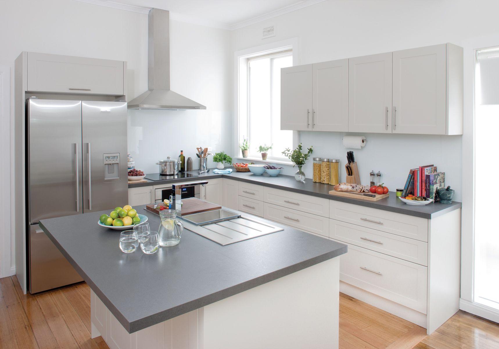 neutral trend kitchen design kitchen wall cabinets design your kitchen on kaboodle kitchen design id=45098