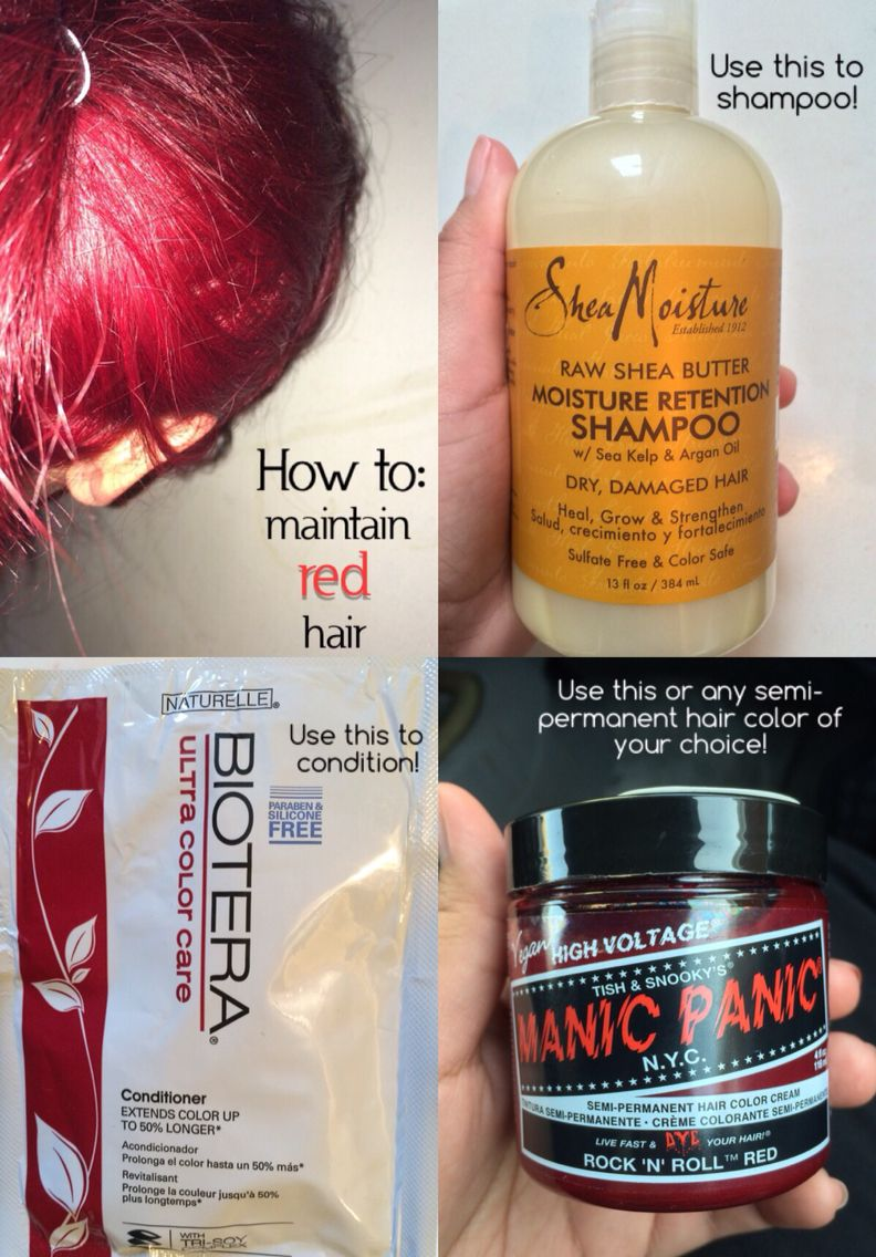 How To Maintain Red Hair A Quick Disclaimer These