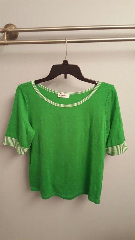 1ca6f669e8e3f Pretty Spring Green Top Spring Green