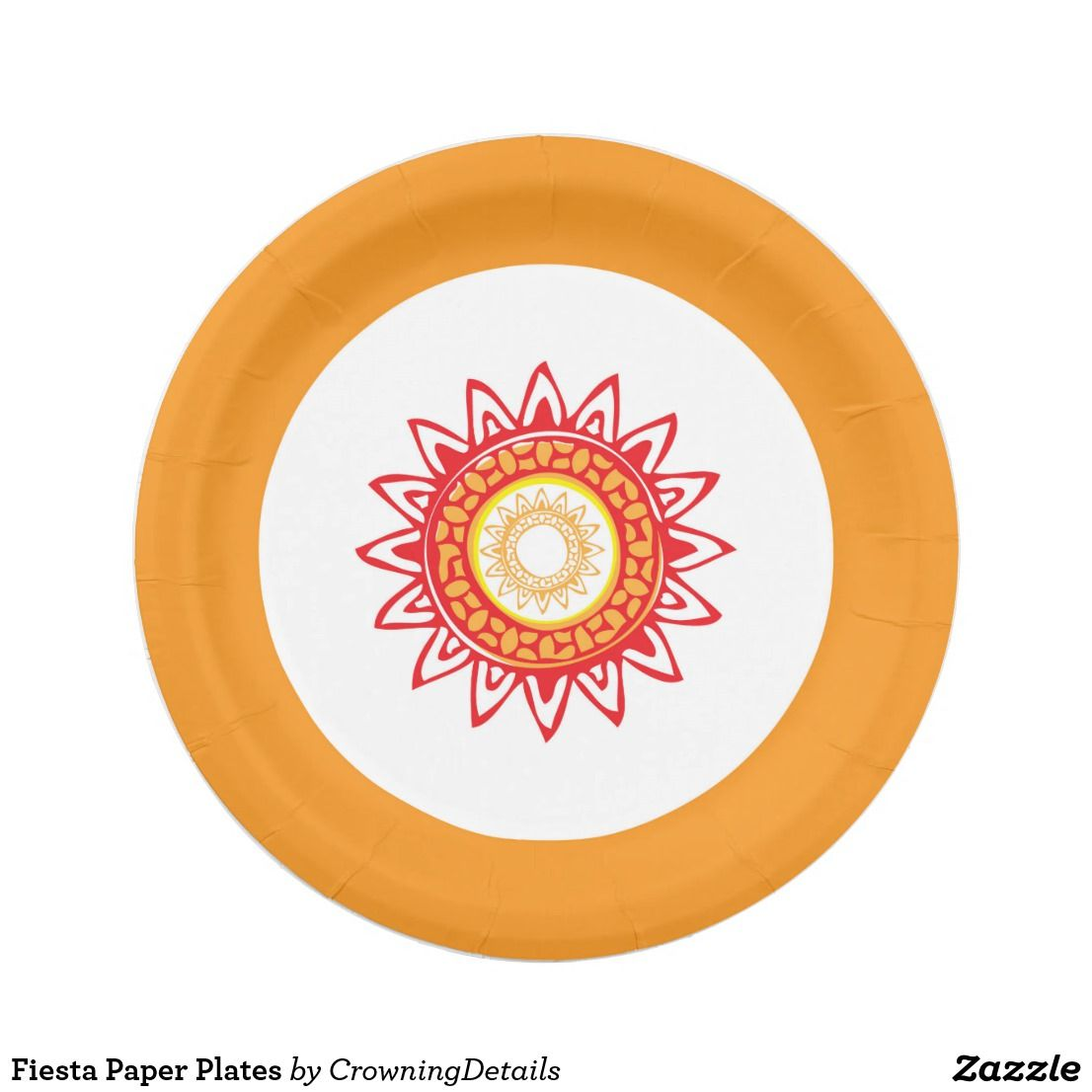 Fiesta Paper Plates for your next fiesta theme party! fiesta party decorations  sc 1 st  Pinterest & Fiesta Paper Plates for your next fiesta theme party! fiesta party ...