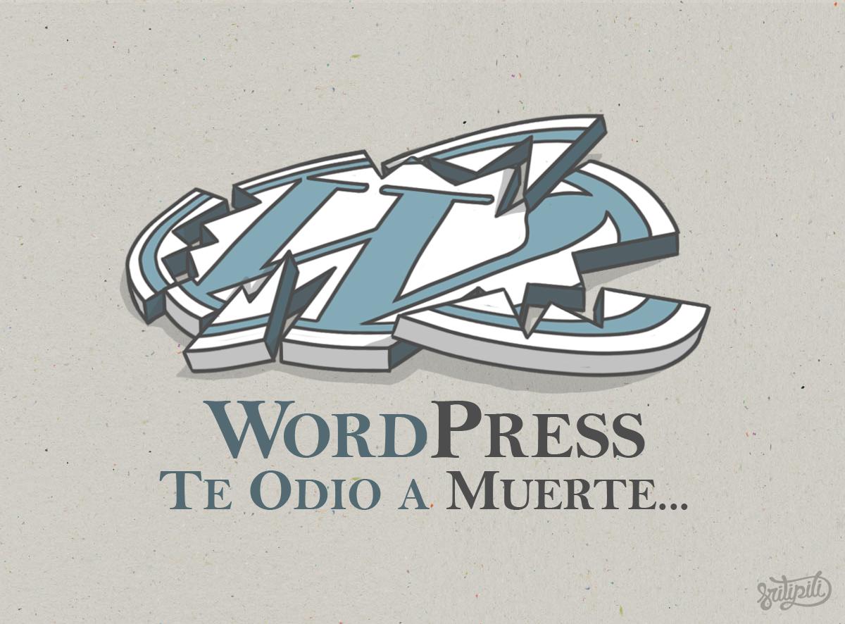 Te odio WordPress