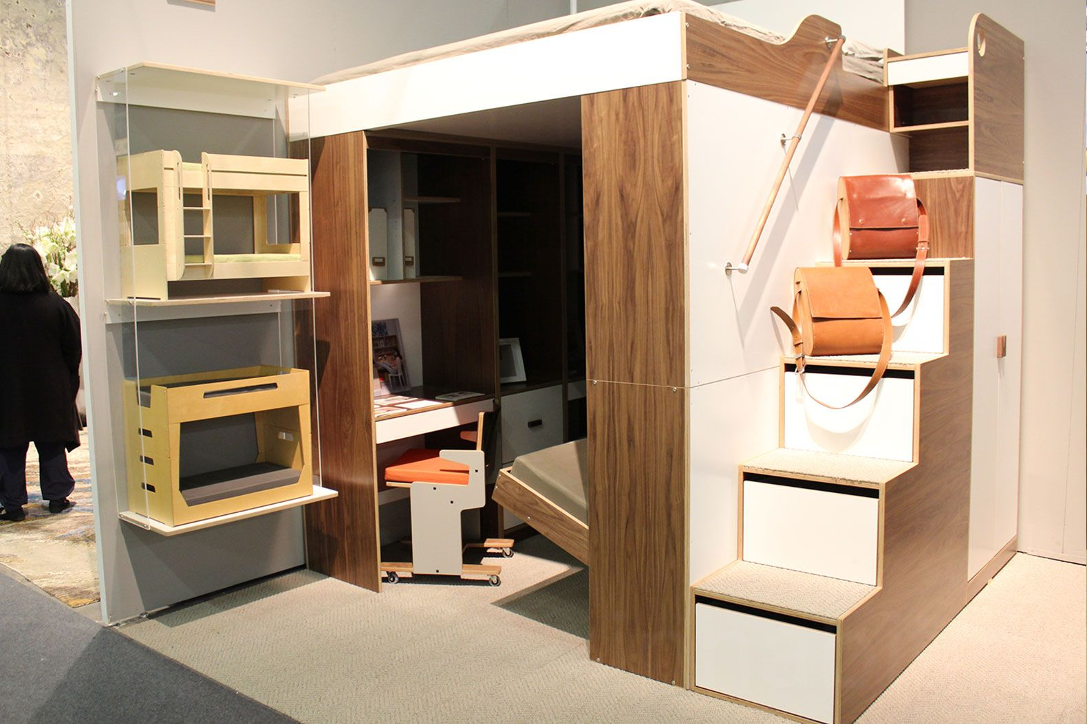 See inside NYC's first micro apartment building ...