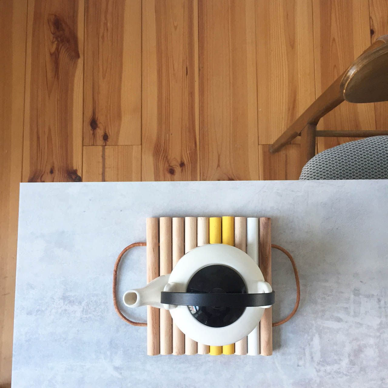 diy dessous de plat dessous plat en bois bricolage et. Black Bedroom Furniture Sets. Home Design Ideas