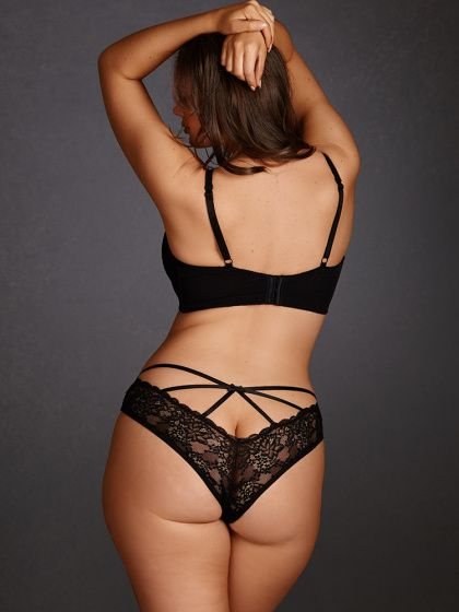 3500a83abf9 Plus Size Camille Strappy Lace Panty