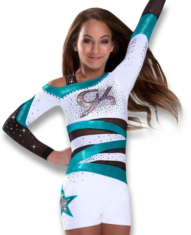 26d8cd2f9c380f Cheerleading Uniforms  Sleek or Shocking