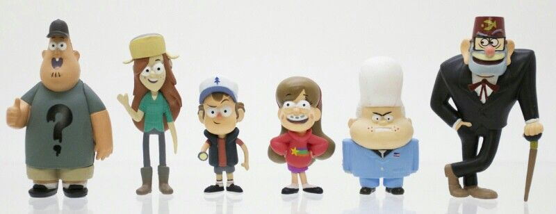 The first images of the newly designed Gravity Falls toys from Jazwares has been revealed! (fuckyeahgravityfalls | Tumblr)