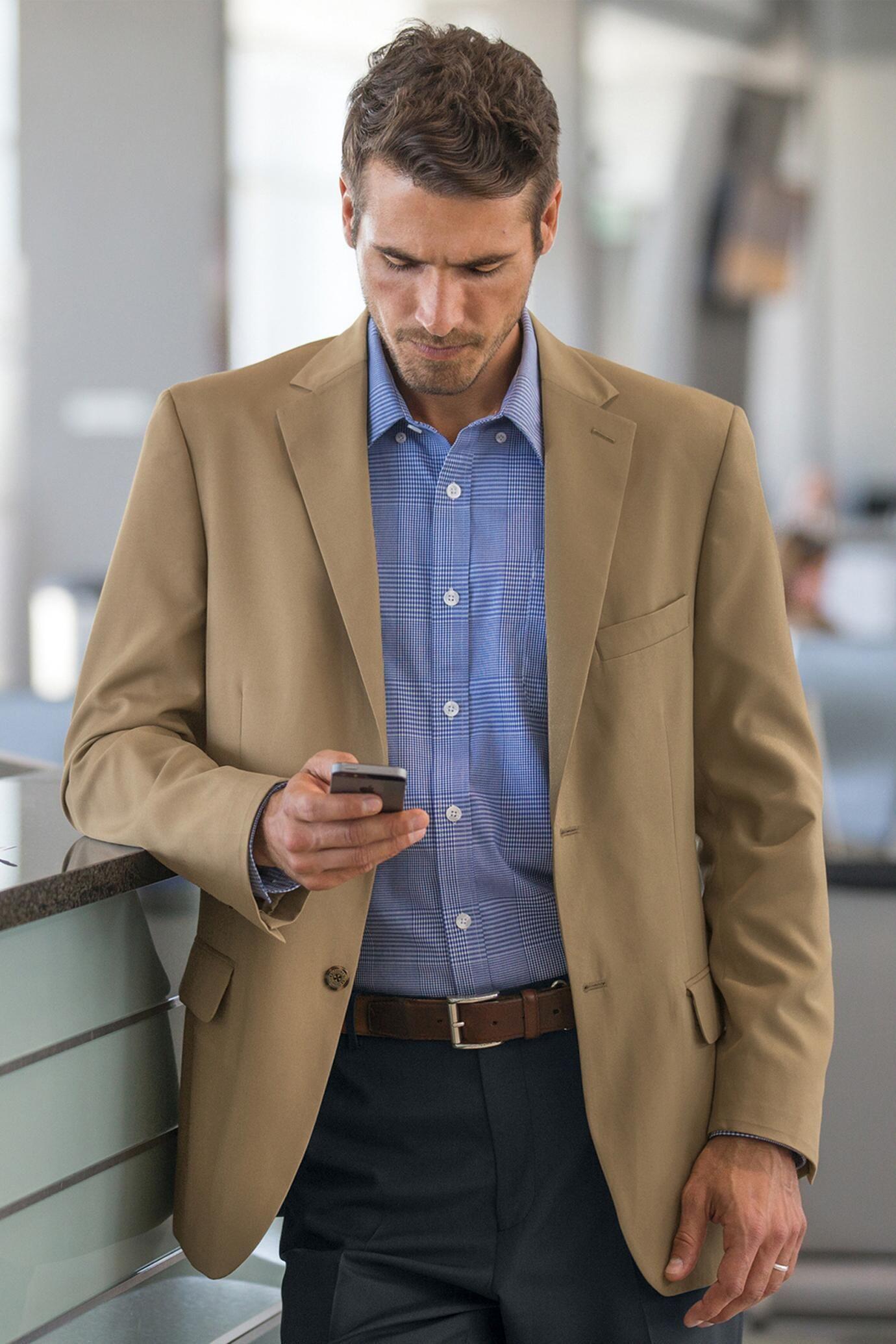 RFIDBlocking Tropical Microfiber Sport Coat Sport coat