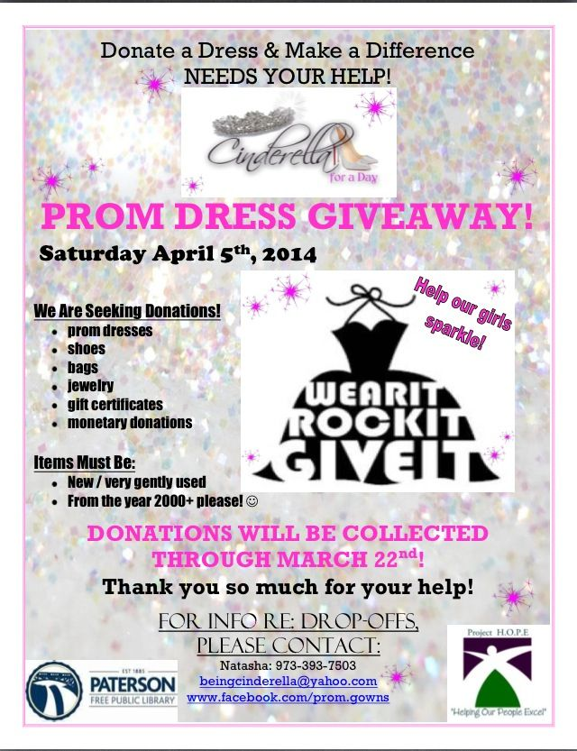 4e8a5babc71 Donations Needed for Free Prom Dress Giveaway ! Beingcinderella yahoo.com