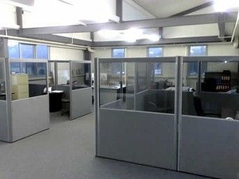 Low Height Partition Design Tech Enterprises Office Dividers Pinterest