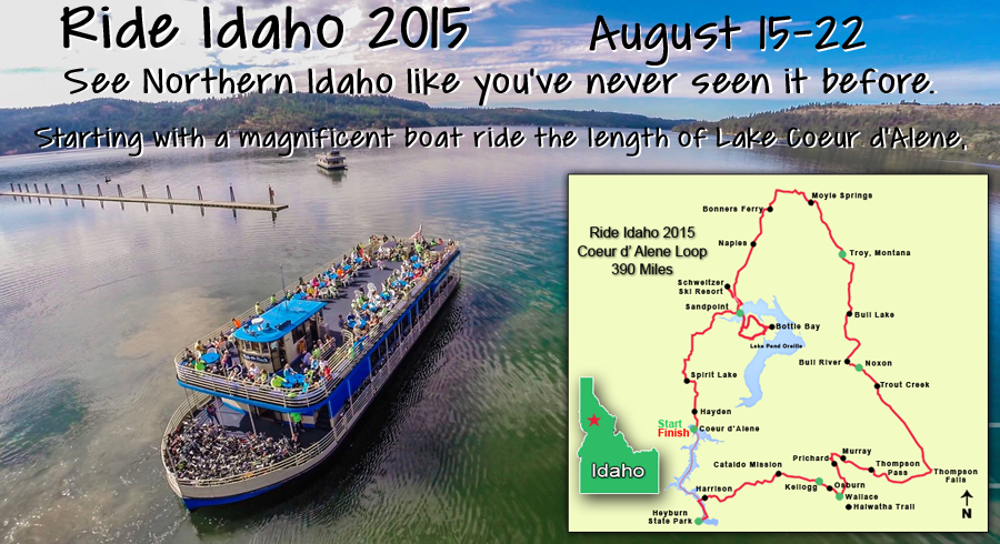 North #Idaho adventur on two wheels: Ride Idaho 2015 | Visitidaho.org