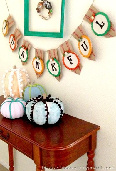 Thanksgiving Entryway - The Silly Pearl