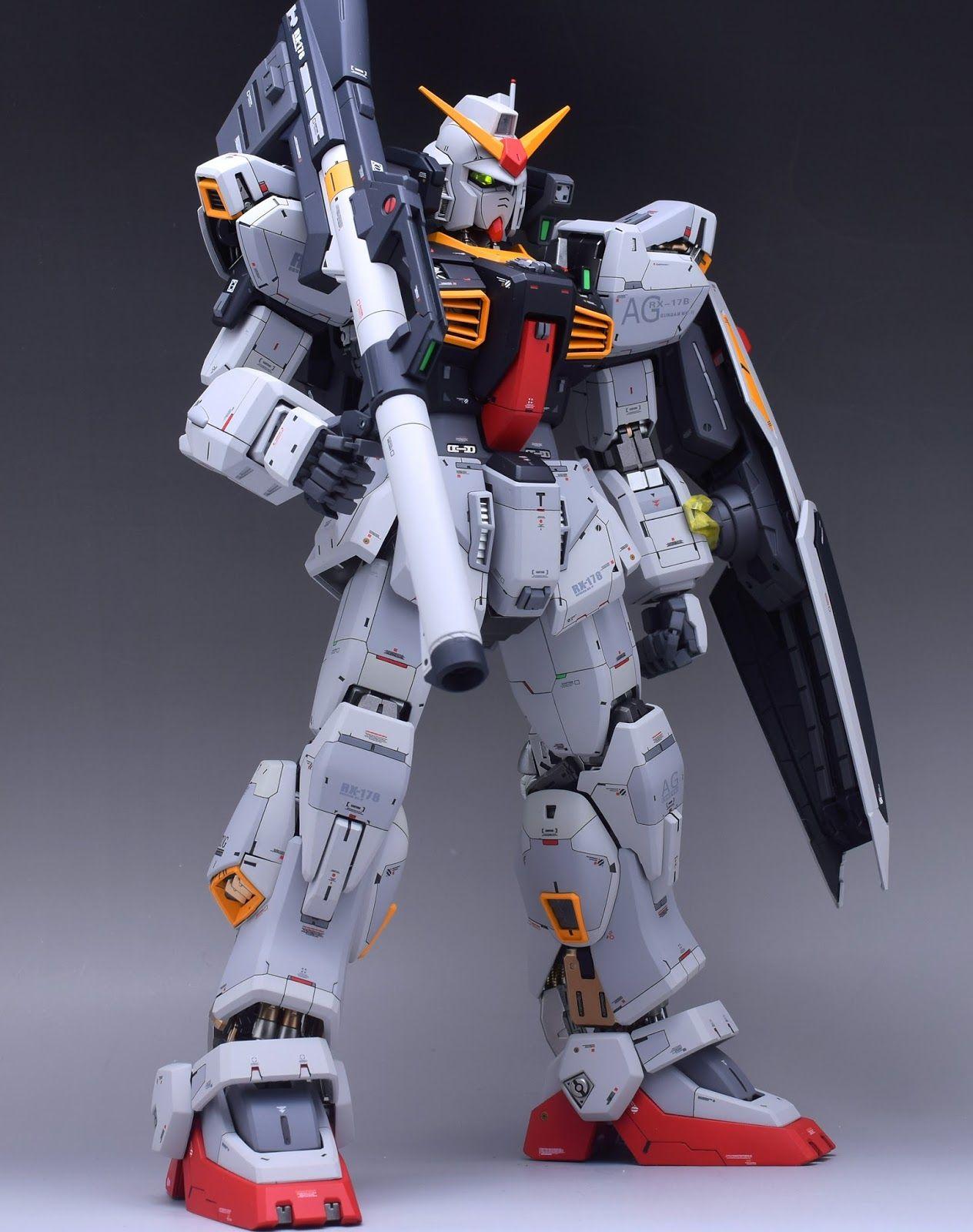 GUNDAM GUY: PG 1/60 Gundam Mk-II AEUG - Customized Build