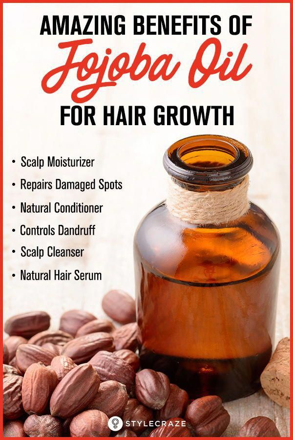Amazing Benefits Of Jojoba Oil For Hair Growth #jojobaoil