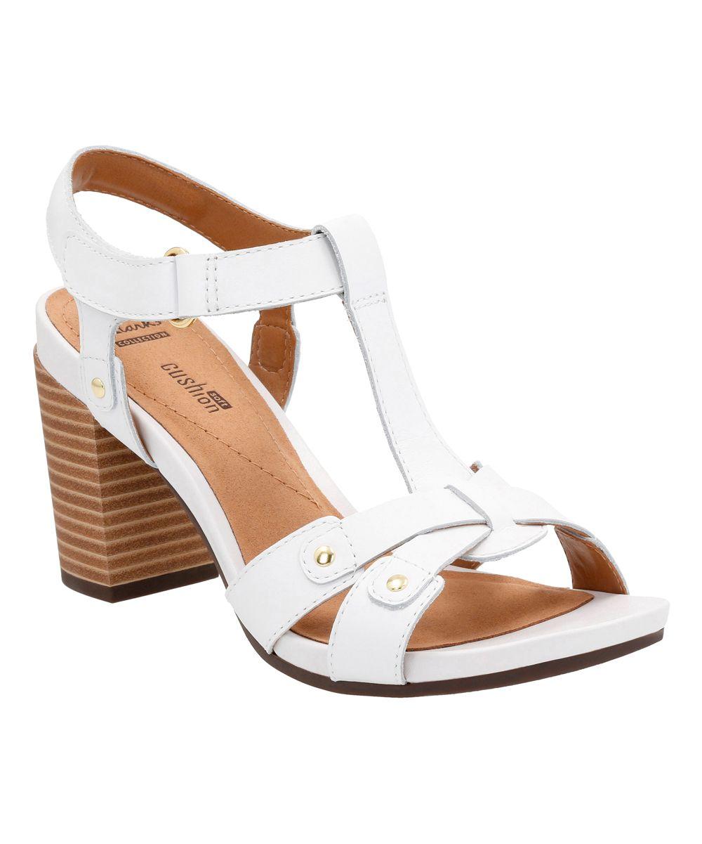 9c3792944085 White Banoy Valtina Leather Sandal