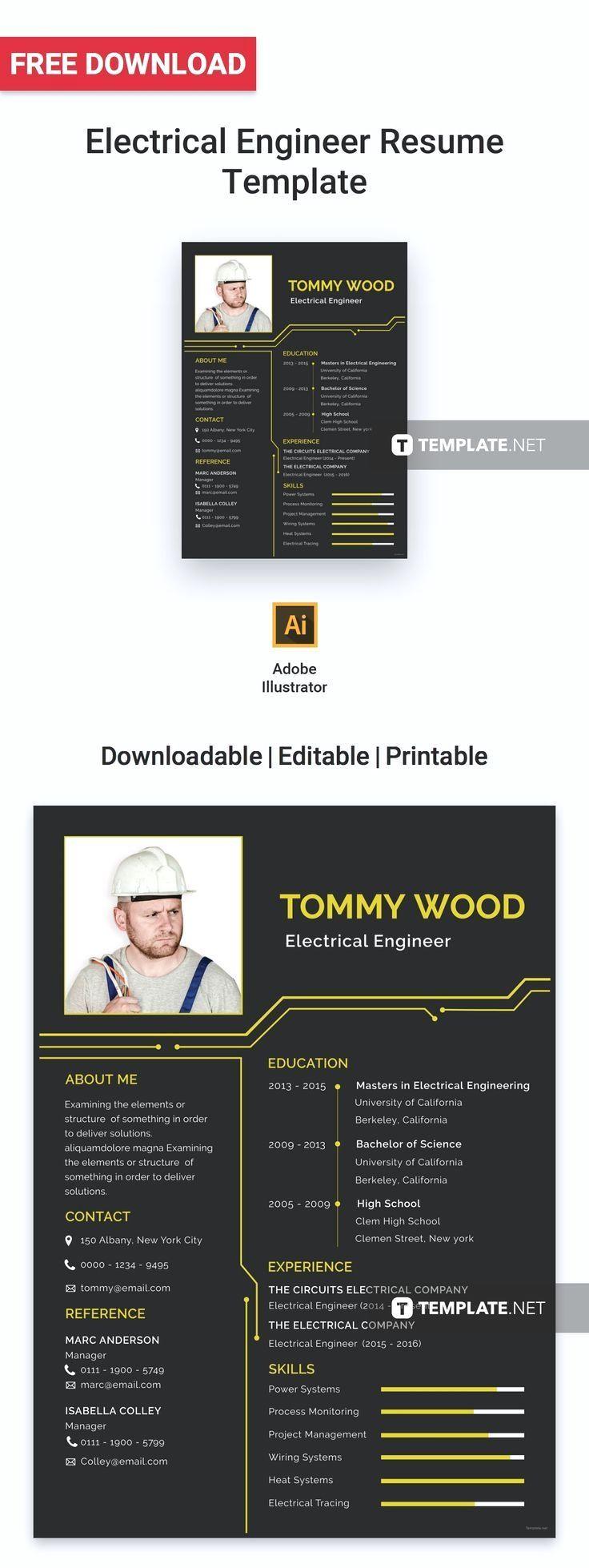Free electrical engineer resume electrical engineer